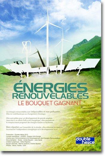 Énergies Renouvelables, le bouquet gagnant