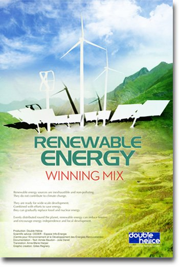 Renewable energy, winning mix